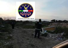 Ragusa – L'AEZA controlla il territorio: rinvenuti rifiuti speciali e materiale pericoloso