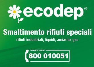 Pubblicità. Smaltimento rifiuti speciali pericolosi Sicilia - Ecodep