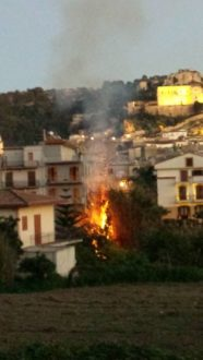 incendio via colombo