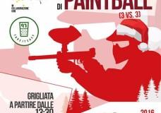 A Scicli il Primo Torneo Natalizio di Paintball