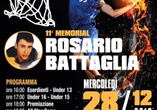 Scicli – Basket. Il 28 Dicembre il Memorial Rosario Battaglia