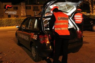 Carabinieri vittoria sera