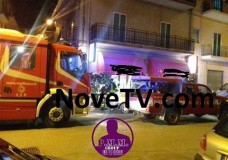 Scicli – Principio d'incendio in un bar-pizzeria