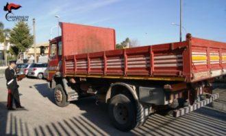camion ritrovato