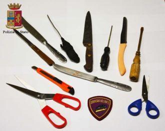 coltelli richiedente asilo