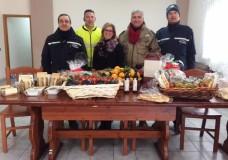 Modica – I doni della Festa di San Sebastiano consegnati alla Cooperativa l'Arca