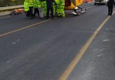 Ispica – Incidente stradale, motociclista trasferito a Catania in elisoccorso