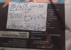 """Scicli – Teatro. Sold out per """"Emporio Lo Mazzo"""". Aggiunta una ulteriore replica, il 22 gennaio"""