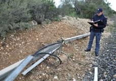 Tentano di rubare del rame dalla linea ferroviaria Vittoria-Ragusa. Sorpresi in flagranza dalla Polizia di Comiso, arrestati