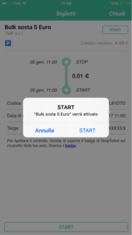 parchegio schermata DropPay Ragusa_3