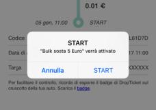 A Ragusa il parcheggio  si paga via App con modalità Start&Stop