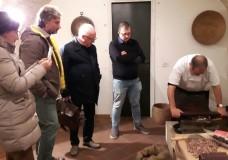 Il Dirigente del Ministero delle Politiche Agricole -PQAI IV- Qualità Certificata e Tutela Indicazioni Geografiche prodotti agricoli, agroalimentari e vitivinicoli in visita al Museo del Cioccolato di Modica