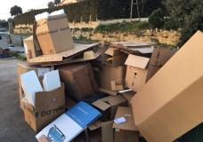Modica – Individuate due discariche abusive, la polizia locale risale a due aziende
