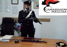 Ragusa – Rinvenuti due fucili rubati, uno era già stato modificato