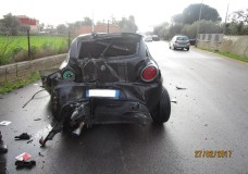 Modica – Incidente stradale, due feriti