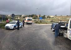Modica – Incidente stradale sul Viadotto Guerrieri, tre feriti
