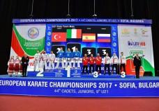 Karate. Giuseppe Panagia conquista il titolo di Campione Europeo a squadre con la Nazionale U21 a Sofia in Bulgaria