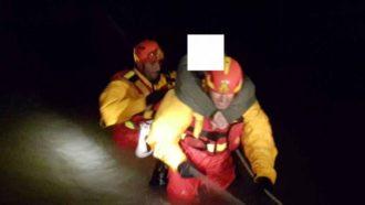 pompieri salvano famiglia