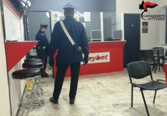 Acate (RG) Carabinieri scommesse gioco clandestine
