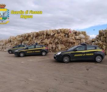 Vittoria – Sequestrati beni per 1,3 mln ad azienda per la raccolta plastica