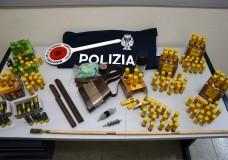 Vittoria – Droga, armi e munizioni. La polizia denuncia un pregiudicato
