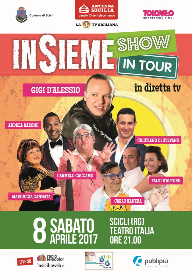Insieme live, in diretta da Scicli, su Antenna Sicilia