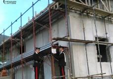 Chiaramonte Gulfi – Cantieri edili controllati dai Carabinieri: due persone denunciate, elevate sanzioni