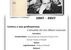 Pozzallo – Un convegno in ricordo di Don Milani
