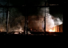 Vittoria – Incendio distrugge il deposito della Imperial Ortaggi