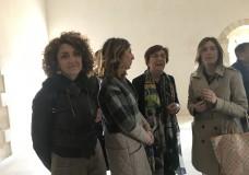 Scicli – Maria Elena Boschi visita l'ex Convento del Carmine
