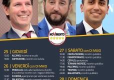 Inizia da Pozzallo il mini-tour siciliano di Luigi di Maio