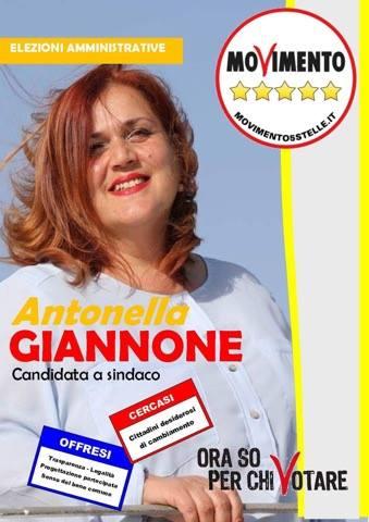 Antonella Giannone, candidata sindaca di Pozzallo