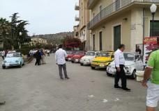 Scicli – Il Raid Fiat 500 ieri in Piazza Italia