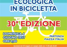 """Scicli – Domenica 4 Giugno la """"Passeggiata ecologica in bicicletta"""""""