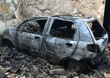Comiso – Bruciano due auto in un garage