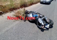 Scicli – Incidente stradale in c.da Spinello, ferito un motociclista