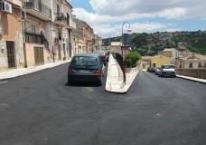Modica – Conclusi i lavori in via Pulino