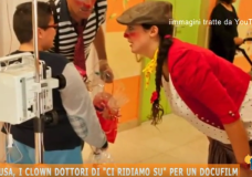 "Ragusa – I Clown Dottori di ""Ci Ridiamo Su"" per un Docu-film – Video"