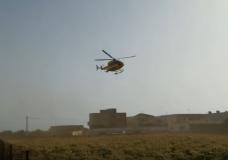 Scicli – Elisoccorso a Pezza Filippa per soccorrere un 57enne