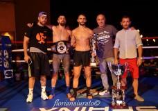 Kick Boxing. Al romano Iacopo Scaringella la cintura Elite K1 71 Kg e il Trofeo Fight Night Scicli