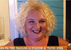 Teatro – Maria Pia Timo inaugura la stagione al Teatro Xenia – Video