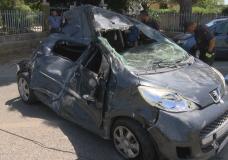 Grave incidente a Pozzallo, 4 vetture coinvolte e un codice rosso