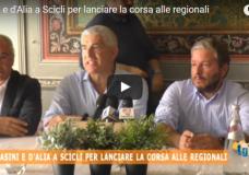 Scicli – Casini, D'Alia e Ragusa per lanciare la corsa alle regionali – Video