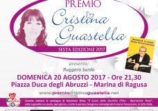 """Domenica 20 Agosto il Festival Canoro """"Premio Cristina Guastella"""", a Marina di Ragusa"""