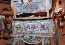 Scicli – Il centro storico colorato dai carretti siciliani