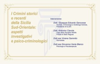 Ispica – I crimini storici della Sicilia sud orientale, a Palazzo Bruno di Belmonte