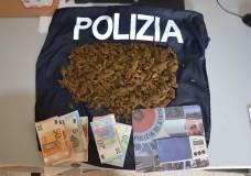 Vittoria – Antidroga. La Polizia sequestra mezzo chilo di marijuana e arresta due algerini