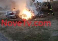 Vittoria – Incendi nell'ipparino, gli interventi dei Vigili del Fuoco