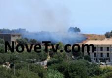 Scicli – Incendio alla periferia della città