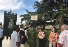 "Ragusa – ""Viale Pamela Canzonieri Vittima di femminicidio  1977-2016"""